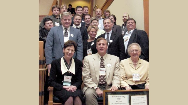 McGuire Family at Oregon Family Business of the Year Awards