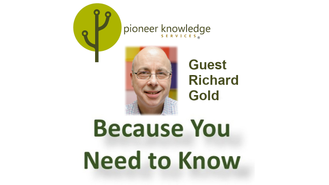 Because You Need to Know – Richard Gold
