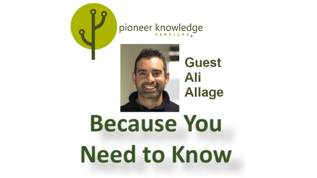 Because You Need to Know – Ali Allage