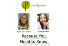 Because You Need to Know – April Buckland and Clara Prather